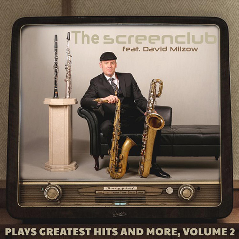The Screenclub feat. David Milzow (Saxophon), Liveband für Konzert, Jazz & Soul