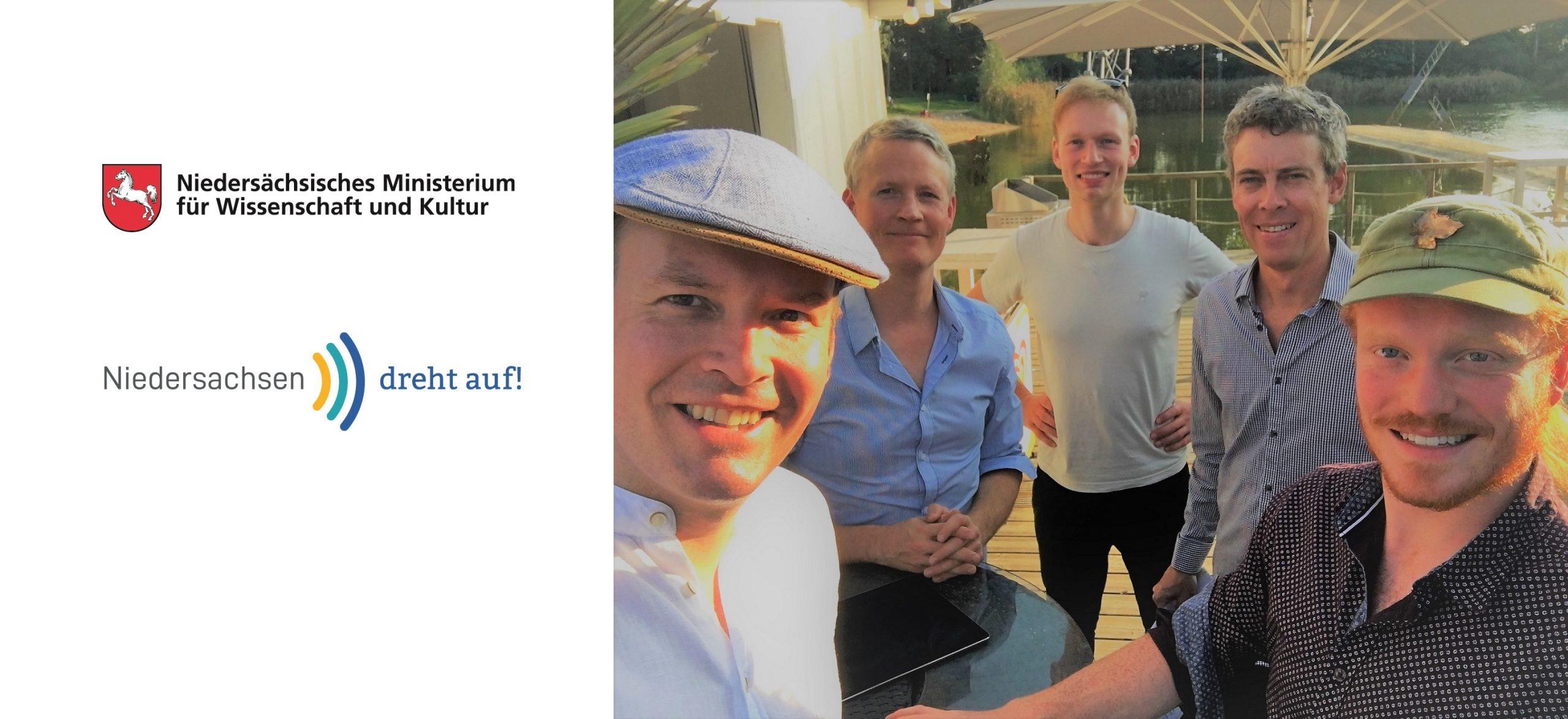 """The Screenclub feat. David Milzow gefördert vom Kulturförderprogramm """"Niedersachsen dreht auf"""" vom MWK Niedersachsen"""