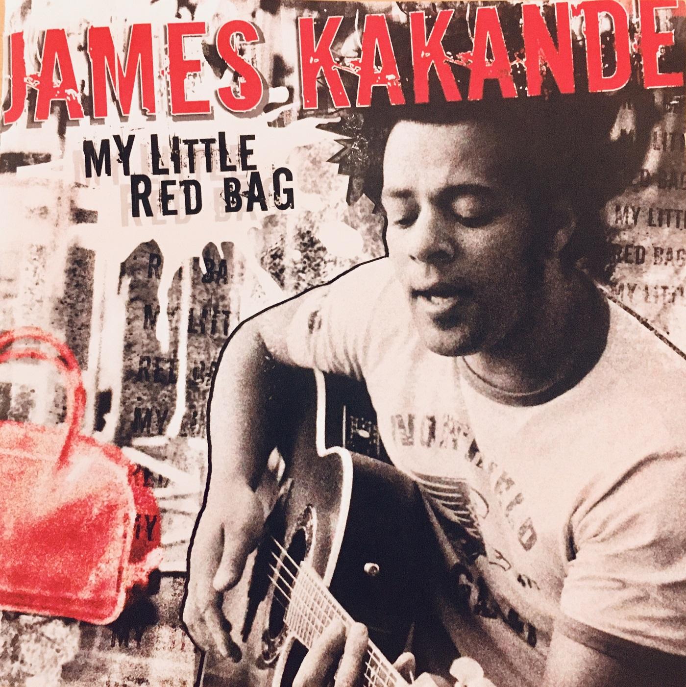 """Album """"James Kakande- My Little Red Bad"""" mit Saxophonist David Milzow"""
