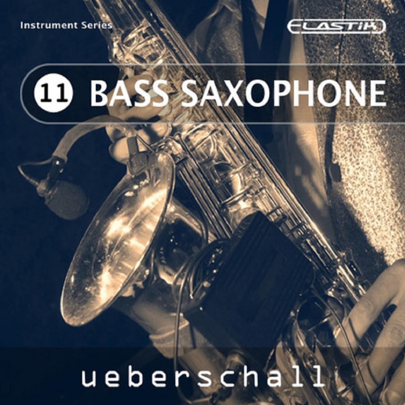 """Cover """"Ueberschall Bass- Saxophone"""" feat. David Milzow (Bass-Sax)"""