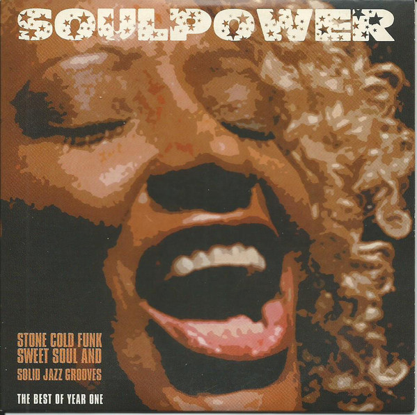 """Cover """"Soulpower- The Best Of Year One"""" mit Saxophonist David Milzow"""