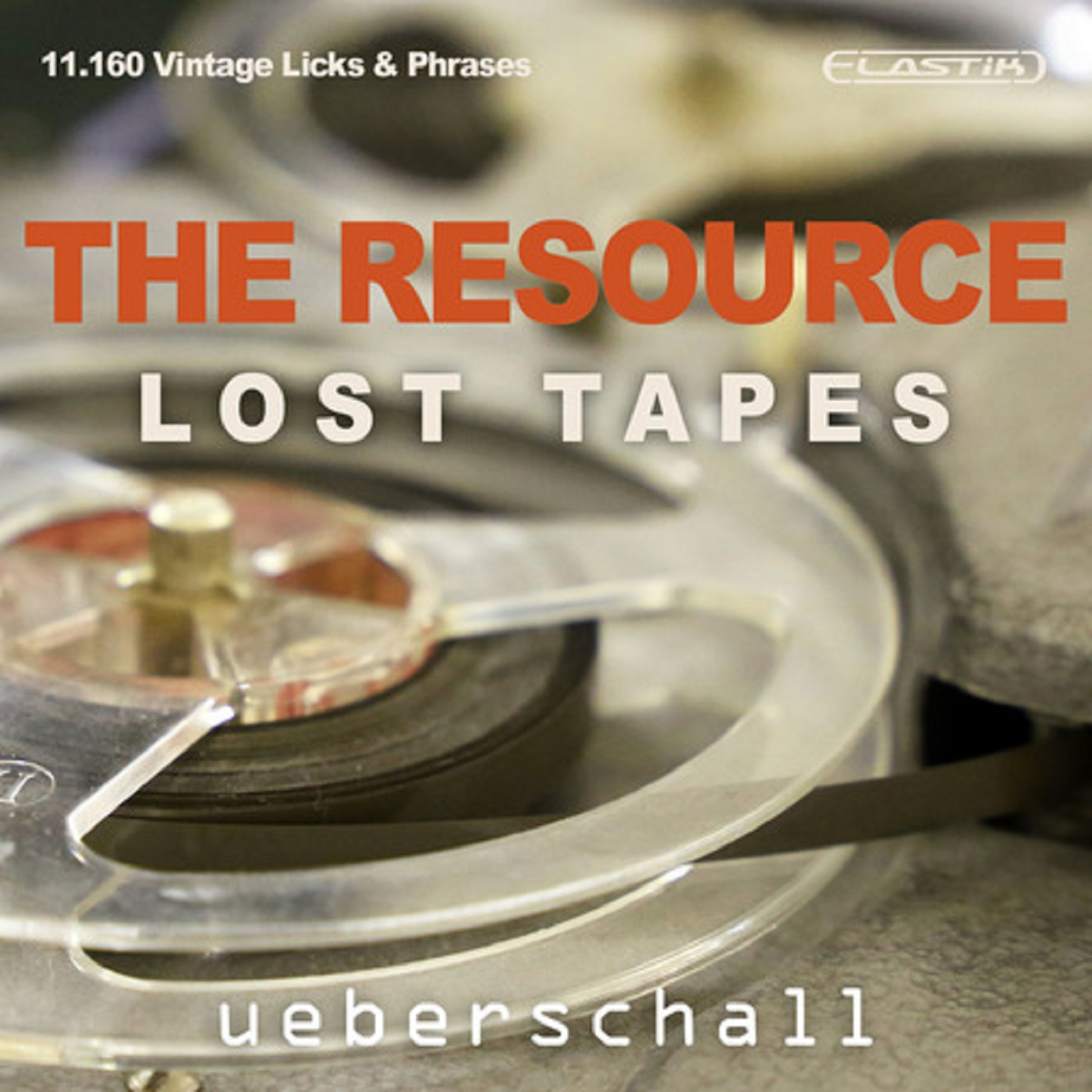 """Cover """"Ueberschall The Resource- Lost Tapes"""" with David Milzow (Saxophones)"""