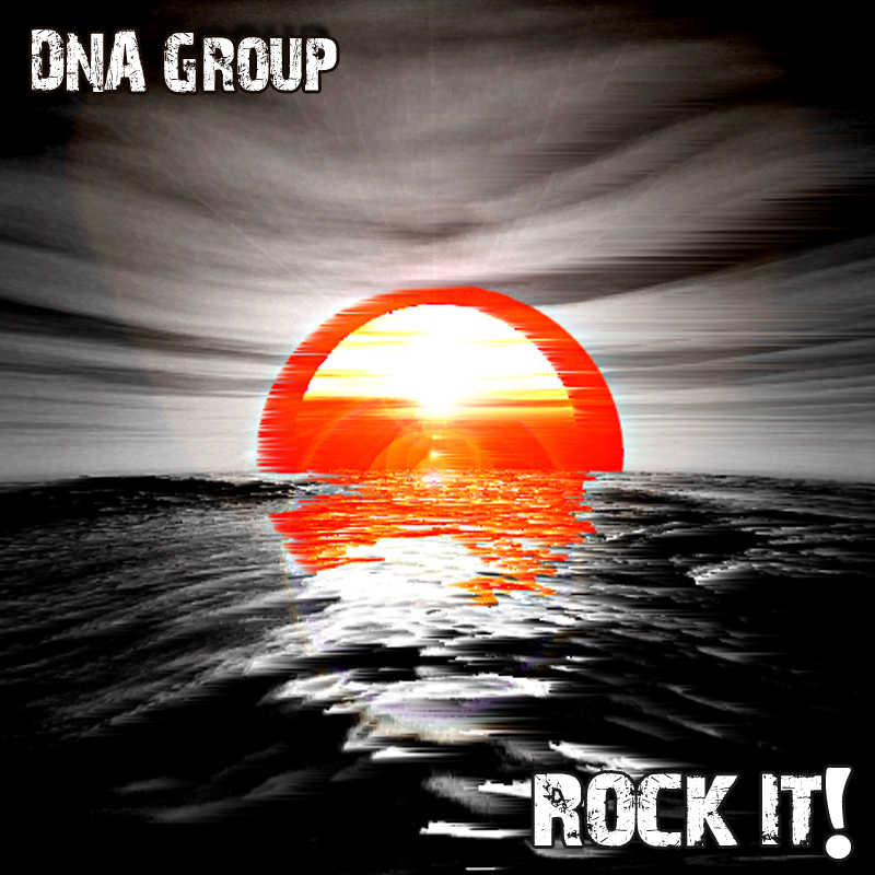 """Cover DNA-Group """"Rock It!"""", feat. David Milzow (Saxes) & Andy Kammer (Guit)"""