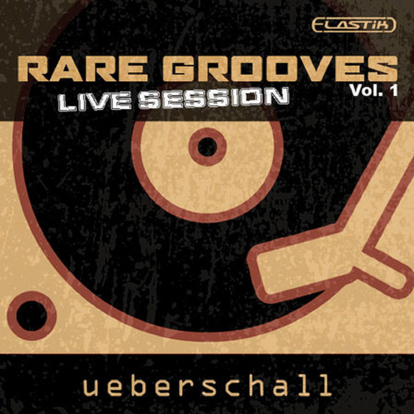 """Cover """"Ueberschall Rare Grooves Live Session Vol. 1"""" with David Milzow (Saxophones)"""