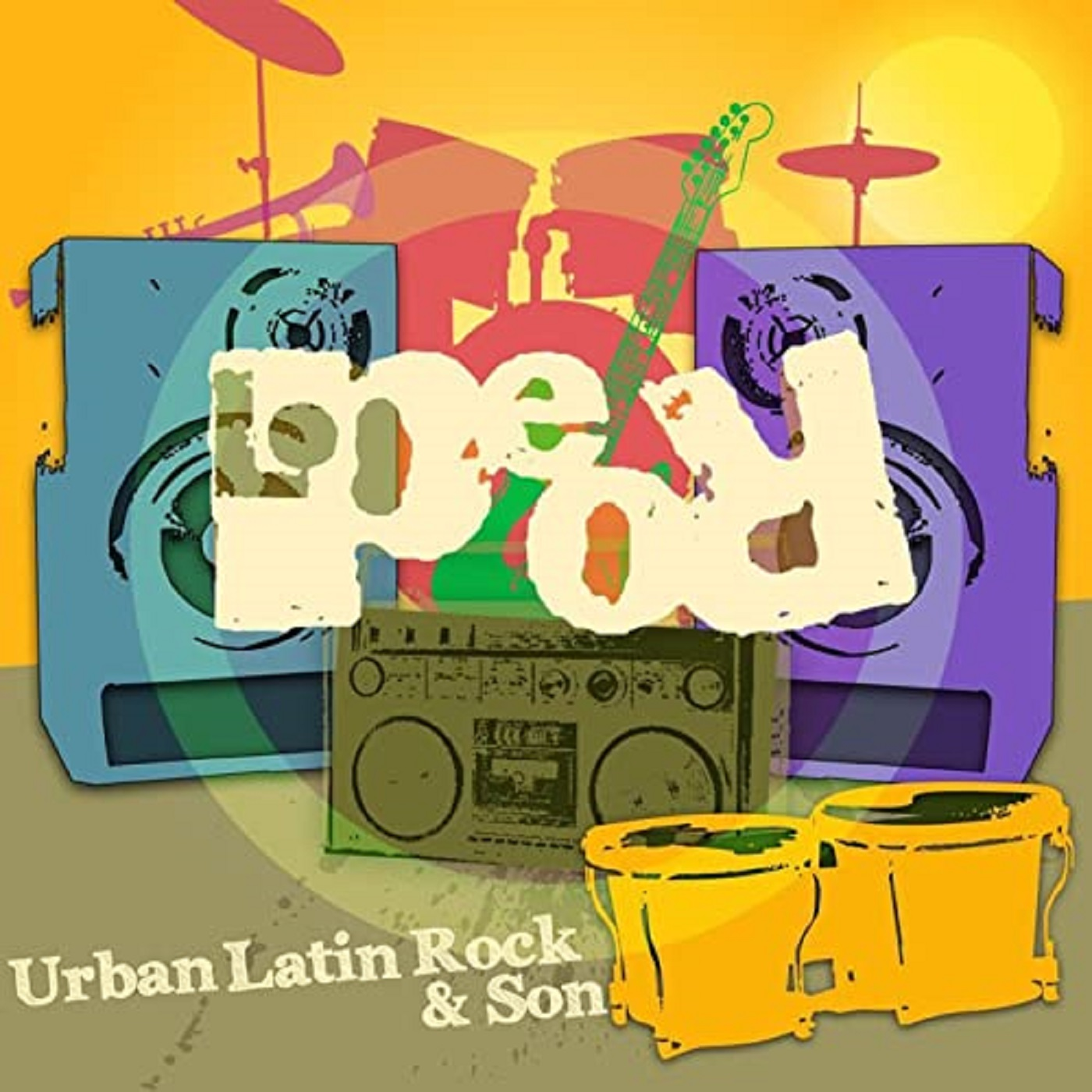 "Cover ""Urban Latin Rock & Son- Lo Peor"" feat. David Milzow (Saxes, Flute) in ""Salchicha Con Huevo"""